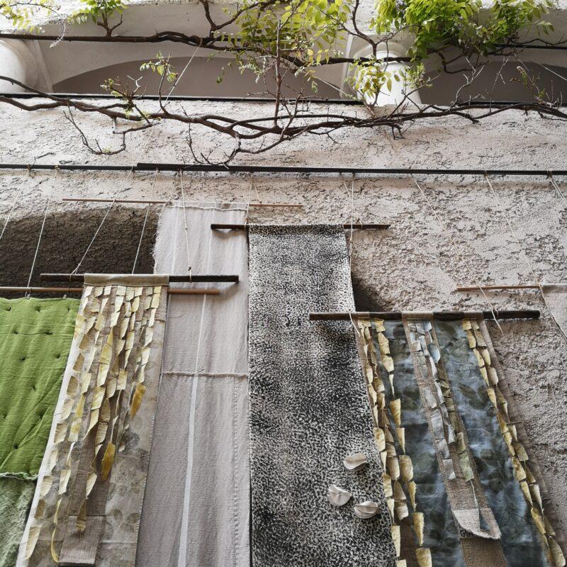 [BIEN2021] Textile installation Forest