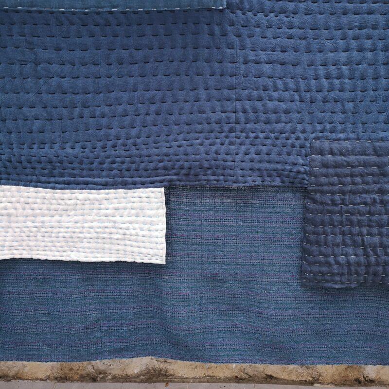 [BIEN2021] Textile installation River